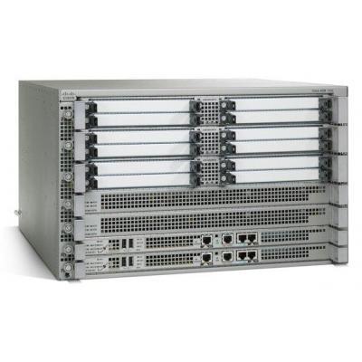 Cisco netwerkchassis: ASR 1006 - Modular expansion base - Grijs