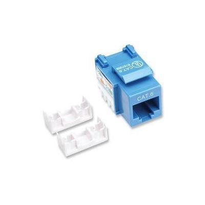 Intellinet kabel connector: Cat6, blue - Blauw