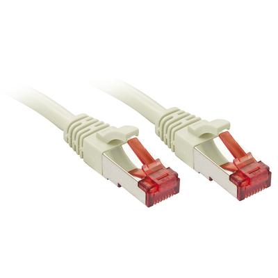 Lindy RJ-45 Cat6 S/FTP 3 m Netwerkkabel - Grijs