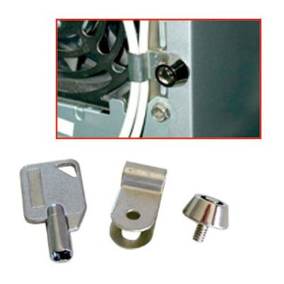 Lindy Theft protection mouse & keyboard Kabelklem - Zilver