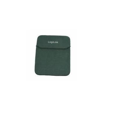 """LogiLink Notebook Sleeve for 25.4 cm (10"""") Notebooks, nylon, black Laptoptas - Zwart"""