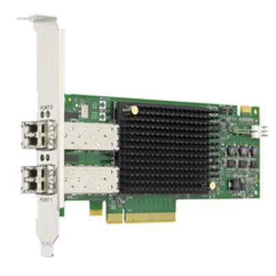 Broadcom PCIe 3.0 x8 1600Mb/s, 2 Port Netwerkkaart - Zwart,Groen,Grijs