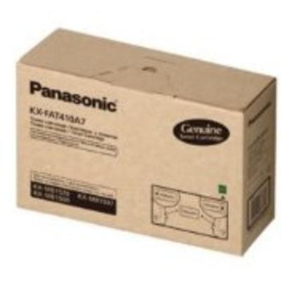 Panasonic 2500pages/5%cov black Toner - Zwart