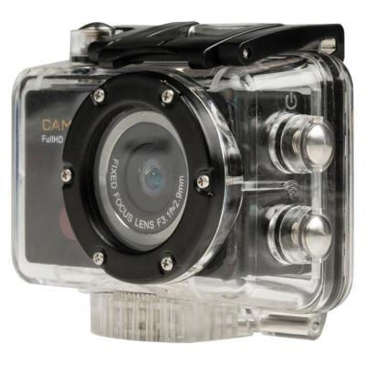 Camlink actiesport camera: Full-HD-actiecamera 1080p Wi-Fi - Zwart