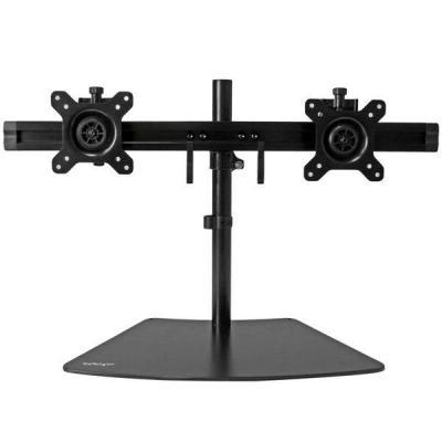Startech.com monitorarm: Dual monitor standaard - Zwart