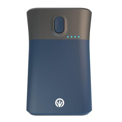 Ifrogz powerbank: GoLite Traveler Portable Charger and Flashlight, 9000mAh, Blue - Blauw, Grijs