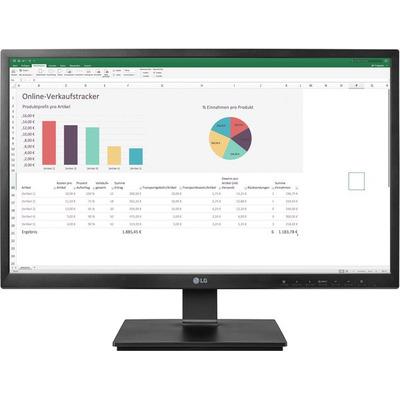 LG 24CK550W-3A monitor - Zwart