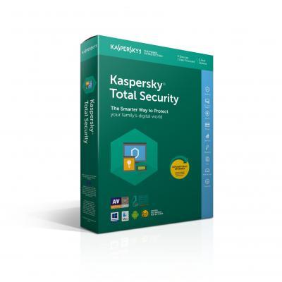 Kaspersky lab software: Total Security 2018
