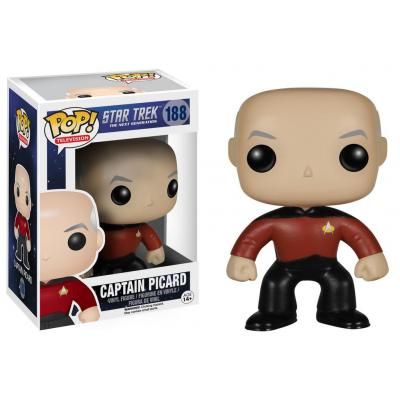 Funko video game toys & figure: POP! TV: Star Trek: The Next Generation - Captain Picard - Multi kleuren
