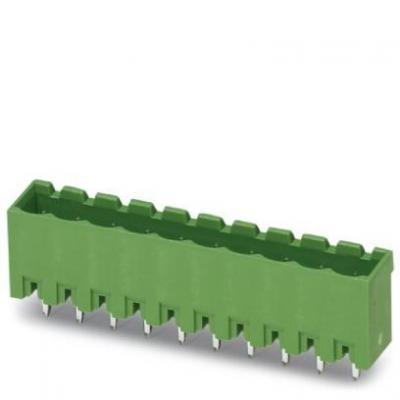 Phoenix contact elektrische aansluitklem: MSTBVA 2.5/ 6-G-5.08 - Groen