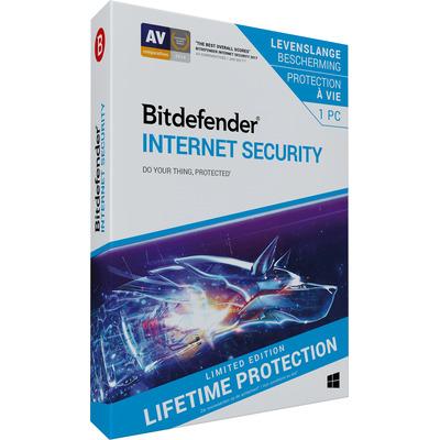 Bitdefender Internet Security (Lifetime/1 Apparaat) Databeveiligingsoftware
