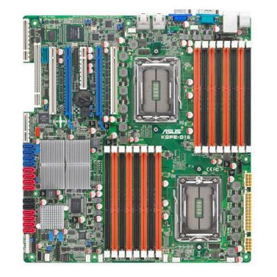 Asus server/werkstation moederbord: 8/12 Core AMD Opteron™ 6100, 2x CPU, 16x DIMM, 6x SATA2, Socket G34 (LGA 1944), .....