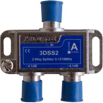 Hirschmann 3DSS2 Kabel splitter of combiner - Blauw, Metallic