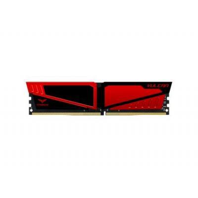 Team Group Vulcan DDR4-2400 16GB RAM-geheugen - Rood