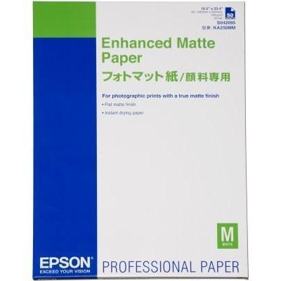 Epson grootformaat media: Enhanced Matte Paper, DIN A2, 192g/m², 50 Vel