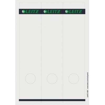 Leitz PC printbare rugetiketten voor kartonnen ordners Etiket - Grijs