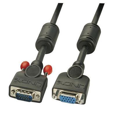 Lindy VGA kabel : VGA - Zwart