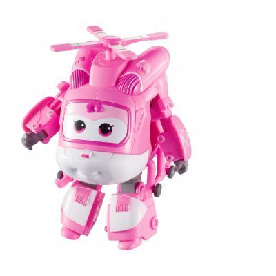 Alpha animation & toys toy vehicle: Super Wings Speelfiguren Transforming! Dizzy - Roze, Wit