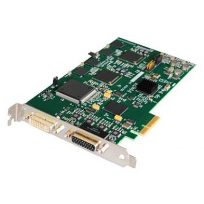 Datapath video capture board: PCI Express x4, DVI-I, 720 x 576 x 16bit