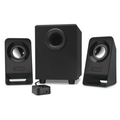 Logitech luidspreker set: Z213 - Zwart