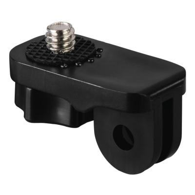 "Hama 1/4"" Camera Connection Adapter for GoPro Accessories, Version II camera beugel/bracket - Zwart"