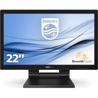 Philips Geweldige interactieve display met SmoothTouch touchscreen monitor - Zwart
