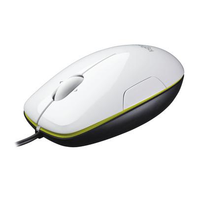 Logitech computermuis: M150 - Zwart, Groen, Wit