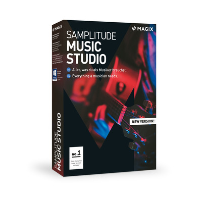 Magix , Samplitude Music Studio audio software