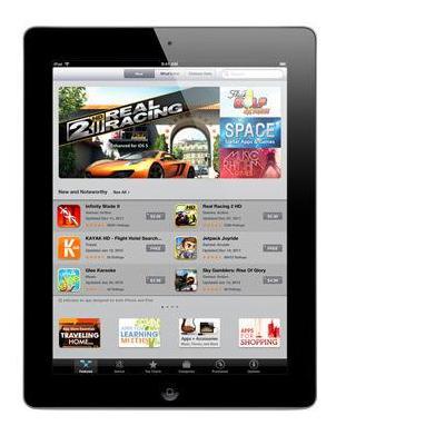 Apple tablet: iPad The new iPad with Wi-Fi 16GB - Black (3rd generation) (Refurbished LG)