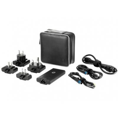 Hp netvoeding: 65W Smart Travel AC Adapter - Zwart