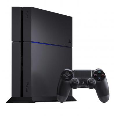 Sony spelcomputer: PlayStation 4 - Zwart