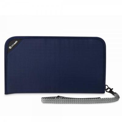 Pacsafe portemonnee: V200 - Blauw, Navy
