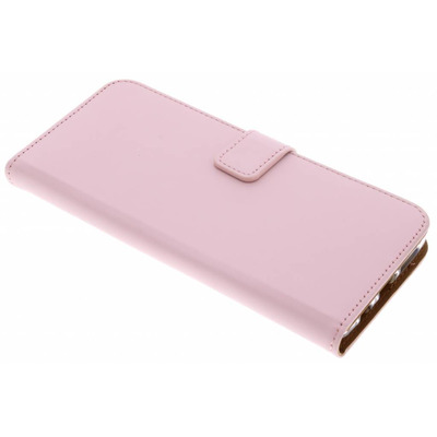 Luxe Softcase Booktype Samsung Galaxy S9 Plus - Poederroze / Light Pink Mobile phone case