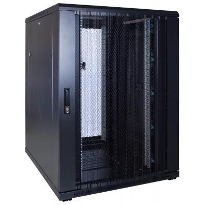 DS-IT 22U serverkast met geperforeerde deur 800x1000x1200mm (BxDxH) Stellingen/racks