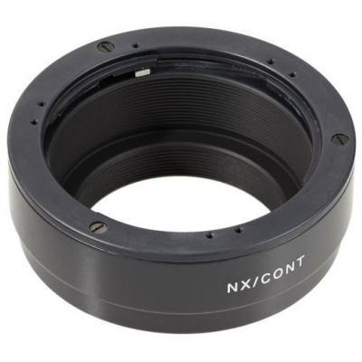 Novoflex lens adapter: Adapter Contax/Yashica Objektive on Samsung NX - Zwart