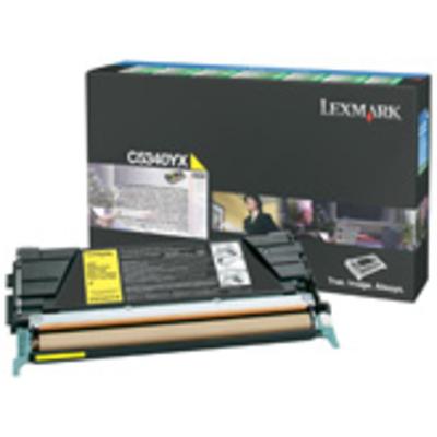 Lexmark C534 7K gele retourprogrammacartridge Toner - Geel