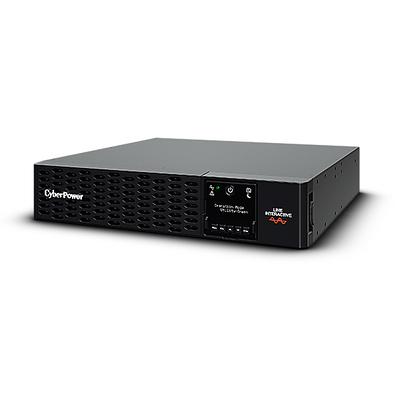 CyberPower 1 kVA, 1kW, 151-302V, 50/60Hz, 10A, 2430J, 433x412x86.5mm, 30.4kg, Black UPS - Zwart