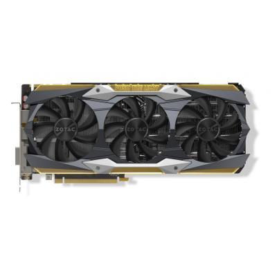 Zotac videokaart: GeForce GTX 1080 Ti AMP Extreme Core Edition