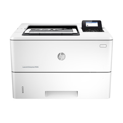 HP laserprinter: LaserJet M506dn - Zwart