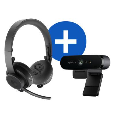 Logitech Pro Personal Video Collaboration Kit Videoconferentie systeem - Zwart