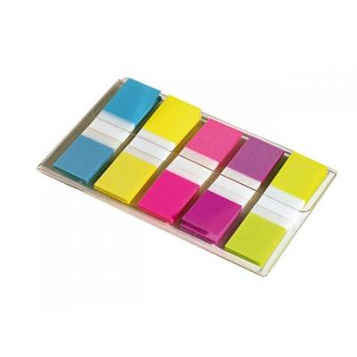 Post-it zelfklevende vlag: Index Mini neon kleuren/set5x20