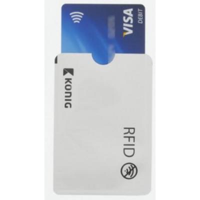 König hoes: RFID card protector 2-pack - Wit