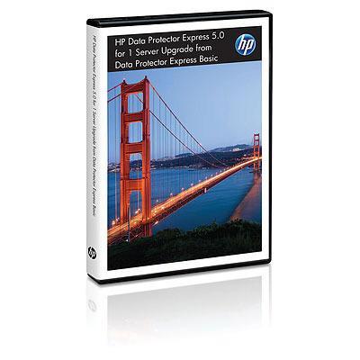 Hewlett Packard Enterprise Data Protector Express V5.0, 1s E-LTU Backup software