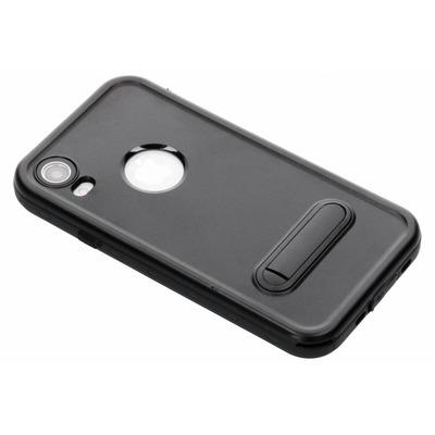 Dot Plus Waterproof Backcover iPhone Xr - Zwart / Black Mobile phone case
