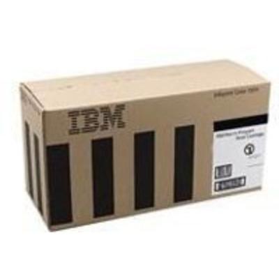 InfoPrint Cartridge for IBM Color 1354/1454/1464, Black, 6000 Pages Toner - Zwart