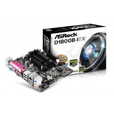 Asrock moederbord: D1800B-ITX