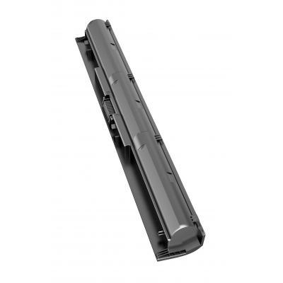 Hp batterij: KI04 notebookbatterij - Zwart