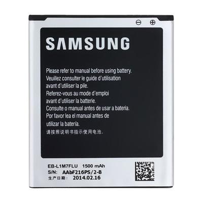 Samsung 1500mAh Li-Ion Mobile phone spare part - Zwart,Zilver