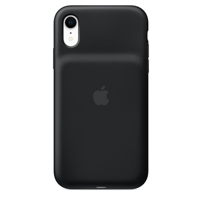 Apple mobile phone case: Smart Battery Case voor iPhone XR - Zwart