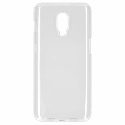 CP-CASES Softcase Backcover OnePlus 6T - Transparant / Transparent Mobile phone case